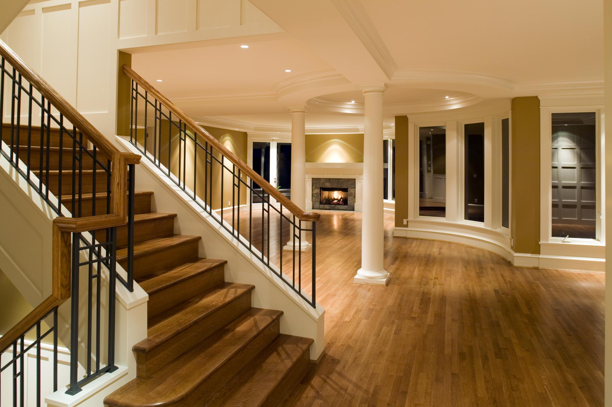 interior unfurnished luxury home